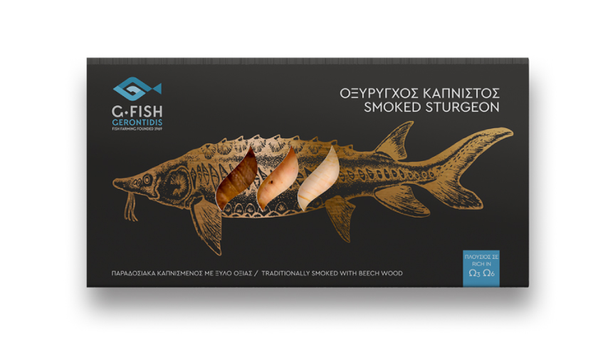 Smoked Sturgeon Fillet